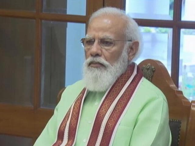 Video : At Covid Meet, PM Modi Asks For Rapid Augmentation Of Oxygen Distribution