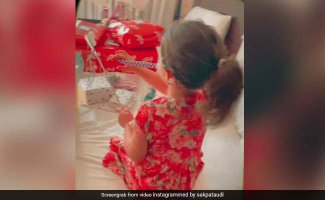 """सोहा अली खान ने लिटिल इनाया के जन्मदिन के बाद """"द मॉर्निंग आफ्टर"""" की झलकियां साझा कीं। हम उपहारों से प्यार करते हैं"""