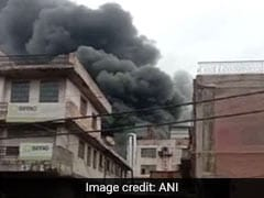 Fire At Factory In Delhi's Mayapuri, No Casualities Reported