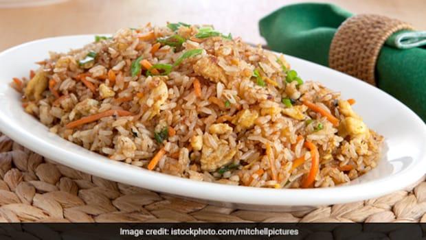 Chicken Burnt Garlic Fried Rice: Make Chicken Burnt Garlic Fried Rice Recipe In Just 15 Minutes At Home
