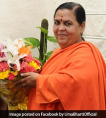 Bureaucrats Around 'To Pick Our Slippers': Uma Bharti In Now Viral Video