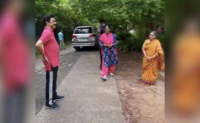 On Camera, Chief Minister MK Stalin Blushes At Question On Morning Walk