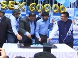 Video : Cake Cutting Ceremony At BSE After Sensex, Nifty Hit Record Highs