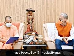 Netherlands' Ambassador To India Meets Yogi Adityanath In Lucknow