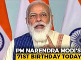 Video : As PM Turns 71, Centre Eyes Vaccination Record; 20-Day Mega Event Planned