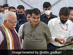 Nitin Gadkari, ML Khattar Review Progress Of Delhi-Mumbai Expressway
