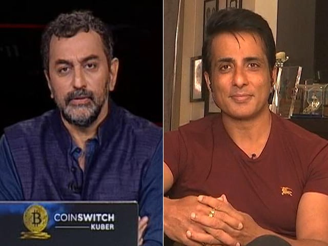 """Video : Actor Sonu Sood To NDTV: """"Tax Officials Acknowledged I've Done Good Work"""""""