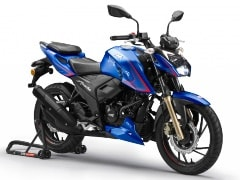 TVS Apache RTR 200 4V Single-Channel ABS Version Launched In Nepal
