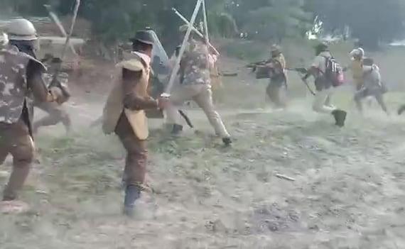 On Camera, Assam Protester Beaten With Sticks, Shot