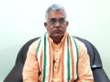 Video : BJP's Dilip Ghosh Dropped As Bengal Chief Amid Exodus, Gets Delhi Role