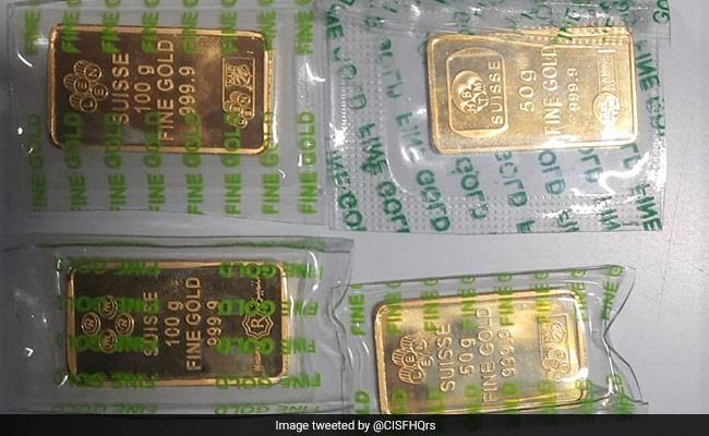 Gold Bars Worth Rs 14 Lakh Recovered From Riyadh Returnee At Delhi Airport