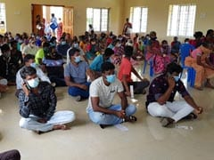 Tamil Nadu's Rural Vaccination Push For 100-Day Scheme Workers