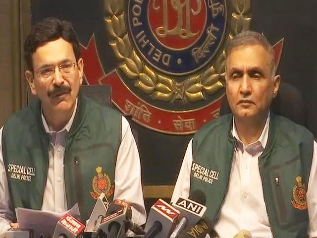 Video : Delhi Police Claims Terrorist Plot Uncovered