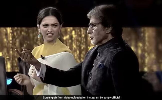 Kaun Banega Crorepati 13: The ROFL Moment Amitabh Bachchan Recreated Om Shanti Om Scene With Deepika Padukone