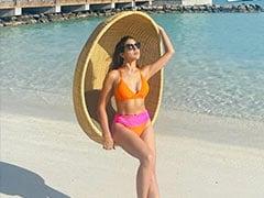 """Sunset Chaser"" Sara Ali Khan Shares Breathtaking New Pics From Maldives"
