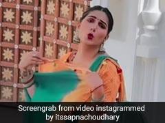 Sapna Chaudhary का गर्मी से हुआ बुरा हाल, बीच शूटिंग में जमीन पर बैठ अपने पल्लू से करने लगीं हवा, देखें Video