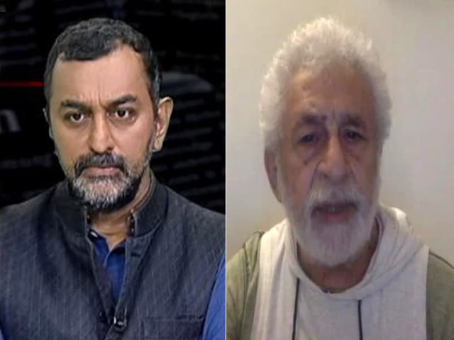 Video : Comments On Few Indians Celebrating Taliban Perfectly Reasonable: Naseeruddin Shah