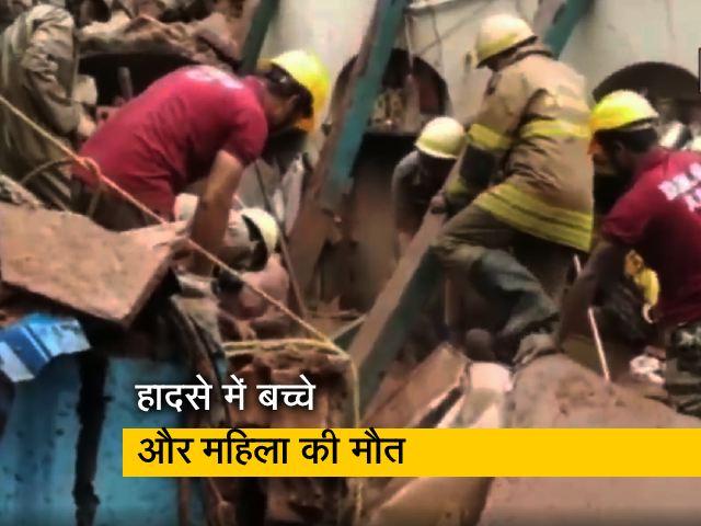 Video : कोलकाता में अहीरीटोला स्ट्रीट पर भवन ढहा, दो की मौत