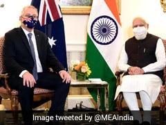 PM Modi Meets Australia's Scott Morrison Ahead Of Quad Leaders' Summit