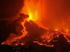 Canaries Volcano Streams Slow Down, Homes Destroyed, Thousands Flee