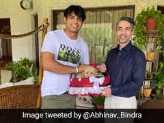 "Abhinav Bindra Meets ""India's Golden Man"" Neeraj Chopra, Presents Him A Special Gift"