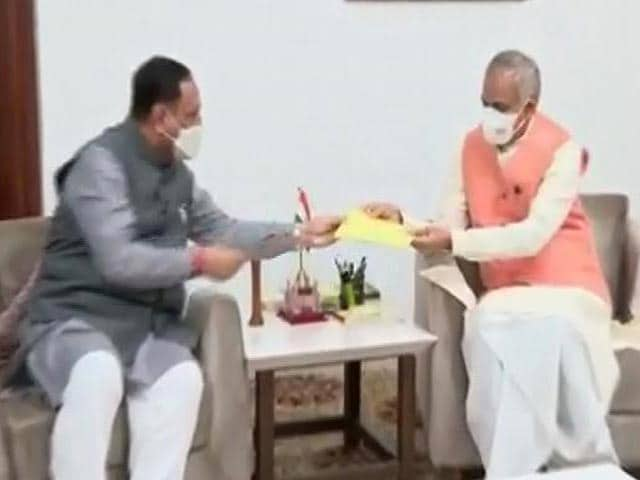 Video : Key Meet Today Likely to Pick New Leader After Vijay Rupani Exit In Gujarat