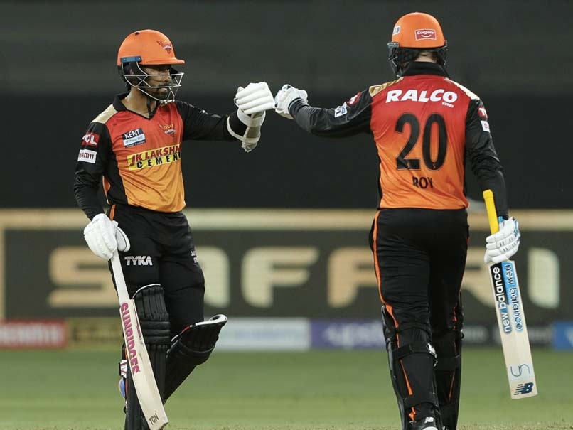 IPL 2021 LIVE: Saha Departs For 18 But Jason Roy Going Strong For SRH