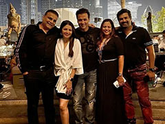 """Pics From Madhavan, Bhagyashree And Rohit Roy's """"Night To Remember"""" In Dubai"""