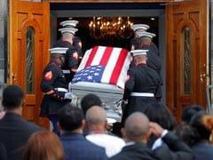 One Of The Last US Marines Killed In Afghanistan Returns Home In Casket