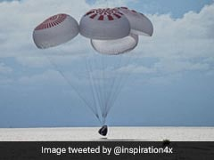 SpaceX Capsule With 1st All-Civilian Orbital Crew Splashes Down Off Florida