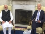Video : Thank You For The Warm Welcome, PM Modi Tells Biden