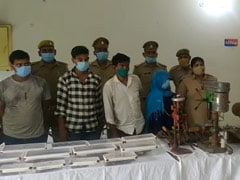 Illegal Arms Factory Busted In Ghaziabad, 5 Arrested: Police