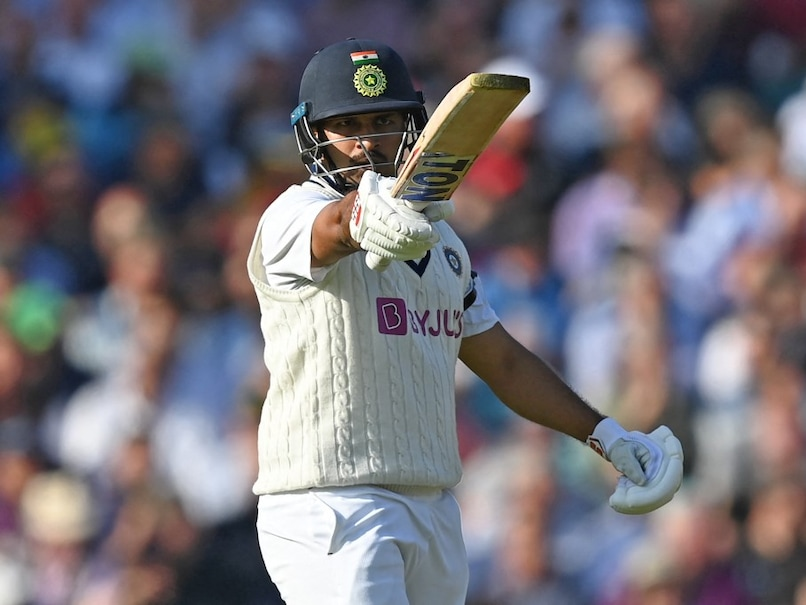 Shardul Thakur starred with a free-flowing half-century on Day 1 of fourth Test.© AFP