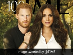 """Harry And Meghan's Time Cover Roasted For Looking """"Airbrushed, Fake"""""""