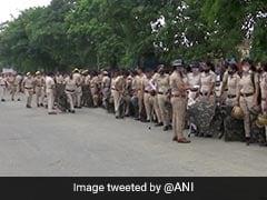 Massive Security As Farmers Plan To Block Mini-Secretariat In Haryana