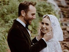 <i>Emily In Paris</i> Star Lily Collins Shares Dreamy Pics Of Surprise Wedding
