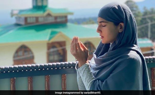 From Sara Ali Khan's Kashmir Album. See Pics