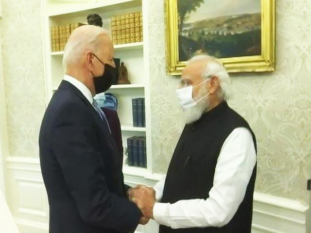 Video : Biden's Efforts On Covid, Climate Change, Quad Noteworthy: PM Modi