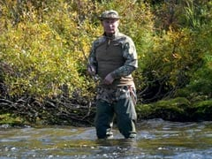 Vladimir Putin Fishing, Hiking In Siberia After Self-Isolation Over Covid Scare