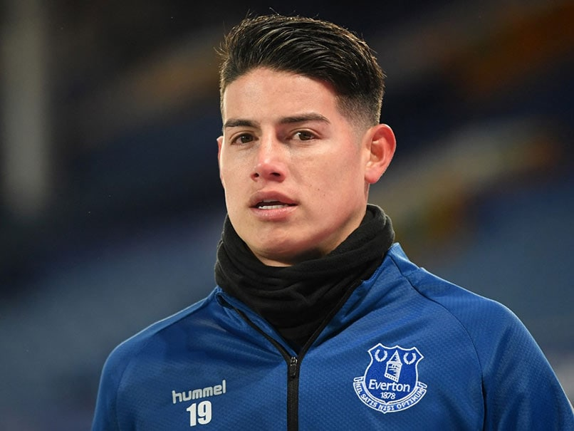 Colombia Star James Rodriguez Leaves Everton For Qatars Al-Rayyan