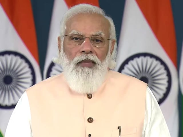 Video : PM Praises Frontline, Health Workers As India Administers Record Doses