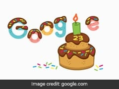 Google Celebrates Its 23rd Birthday With Unique Doodle
