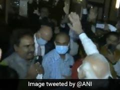 "Watch: ""Modi"" Chants Greet PM Outside New York Hotel Ahead Of UN Address"