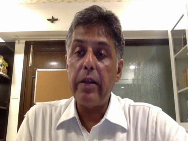 """Video : """"Prolonged Sulking Doesn't Help State"""": Manish Tewari On Punjab Crisis"""