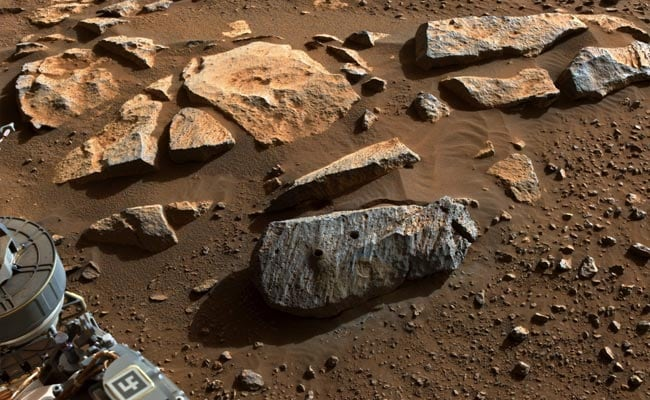 Rocks Collected By NASA's Mars Rover Boost Case For Ancient Life