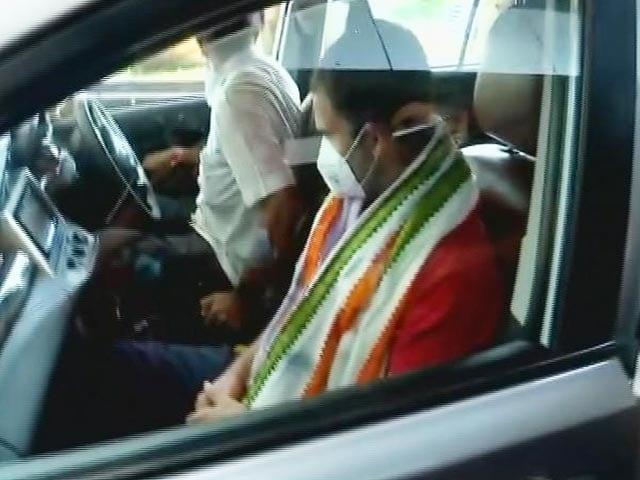 Video : Rahul Gandhi In Kerala As Congress Firefights Fresh Punjab Crisis
