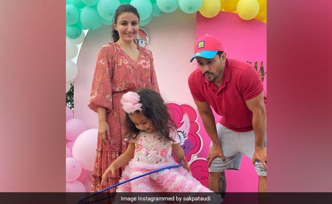 Soha Ali Khan Takes Us Inside Inaaya's Unicorn-Themed Birthday Party. Wish We Were Invited