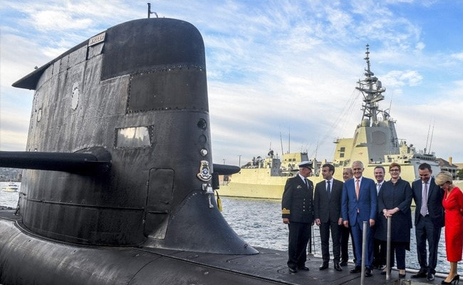 'Stabbed In The Back' France Vents Over Submarines, Alone On World Stage