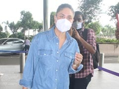 Kareena Kapoor Goes The Denim-On-Denim Route To The Airport But Not Without Her Rs 3 Lakh Dior Tote