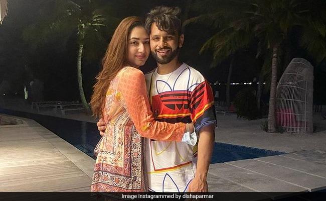 'Lucky That I Got You': Disha Parmar Makes Rahul Vaidya's Birthday Special In Maldives Like This